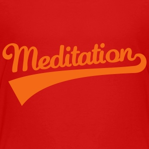 Meditation Kids' Shirts - Toddler Premium T-Shirt