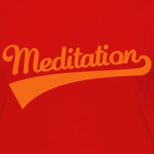 Meditation Kids' Shirts - Women's Premium Long Sleeve T-Shirt