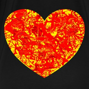 Big Lava Love Heart. Tote. - Men's Premium T-Shirt