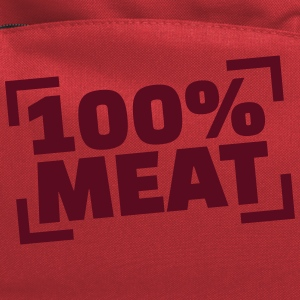 100% Meat Kids' Shirts - Computer Backpack