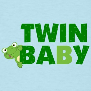 Twin Baby B Frog  s - Men's T-Shirt