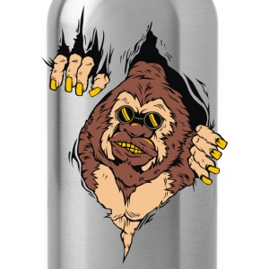 GORILLA CAME OUT FROM MEN SWEATSHIRT - Water Bottle