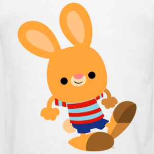 Cute Prankish Cartoon Rabbit by Cheerful Madness!! Hoodies - Men's T-Shirt