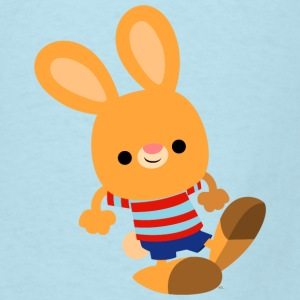 Cute Prankish Cartoon Rabbit by Cheerful Madness!! Baby & Toddler Shirts - Men's T-Shirt