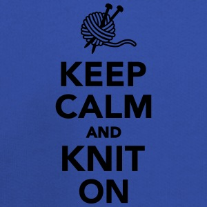Keep calm and knit on T-Shirts - Kids' Premium Hoodie