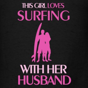 surfing married Tanks - Men's T-Shirt