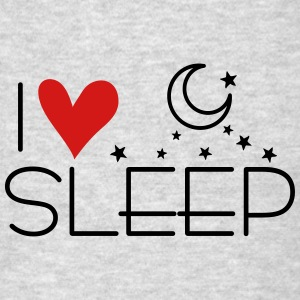 I love sleep Women's Flowy Tank Top by Bella - Men's T-Shirt