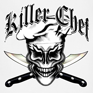 Chef Skull 1: Killer Chef T-Shirts - Adjustable Apron