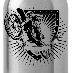 motocross shield T-Shirts - Water Bottle