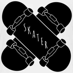 Skater Skateboards Kids' Shirts - Toddler Premium T-Shirt