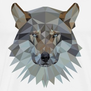 wolf Hoodies - Men's Premium T-Shirt