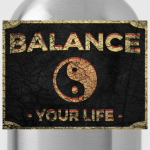 Balance Your Life Yin Yang - Water Bottle