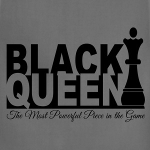 Black Queen Most Powerful Piece in the Game Tees - Adjustable Apron