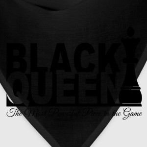 Black Queen Most Powerful Piece in the Game Tees - Bandana