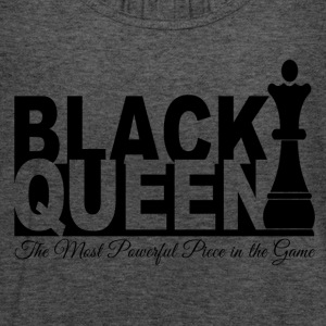 Black Queen Most Powerful Piece in the Game Tees - Women's Flowy Tank Top by Bella