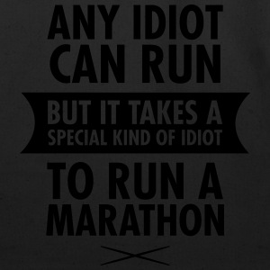 Any Idiot Can Run Women's T-Shirts - Eco-Friendly Cotton Tote