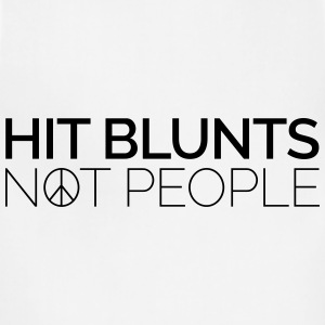 Hit Blunts, Not People Women's T-Shirts - Adjustable Apron