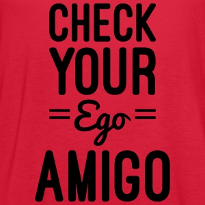 Check Your Ego Women's T-Shirts - Women's Flowy Tank Top by Bella