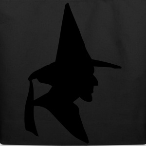Witch Profile Women's T-Shirts - Eco-Friendly Cotton Tote