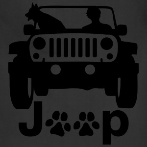A0239 JEEP CANINE T-Shirts - Adjustable Apron