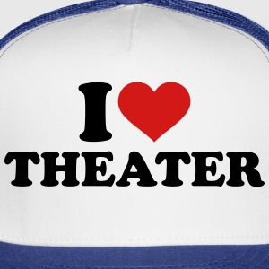 I love Theater Kids' Shirts - Trucker Cap