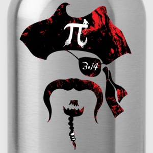 Irrational Pi Day Pirate - Water Bottle
