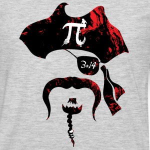 Irrational Pi Day Pirate - Men's Premium Long Sleeve T-Shirt