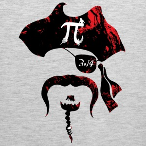 Irrational Pi Day Pirate - Men's Premium Tank