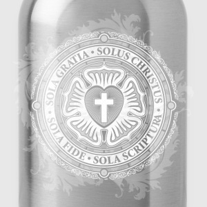 Christian Jesus Rose Lutheran - Water Bottle