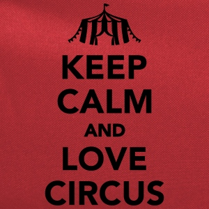 Keep calm and circus on Kids' Shirts - Computer Backpack