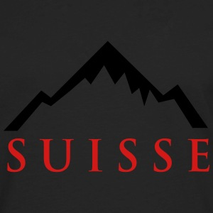 Suisse Alps - Matterhorn T-Shirts - Men's Premium Long Sleeve T-Shirt