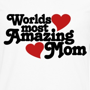 Amazing mom - Men's Premium Long Sleeve T-Shirt