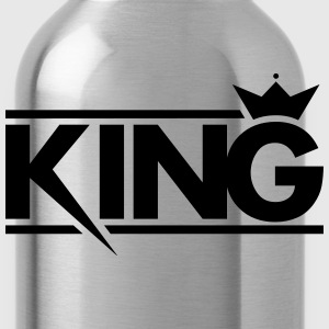 King Couple - Water Bottle