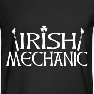 Irish Mechanic back T-Shirts - Men's Long Sleeve T-Shirt