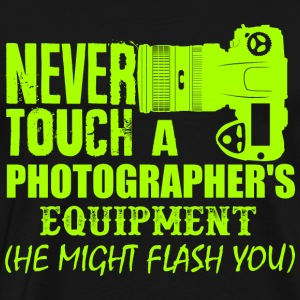 photographer Hoodies - Men's Premium T-Shirt