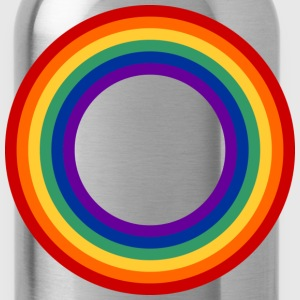 Rainbow Circle Shirt - Water Bottle