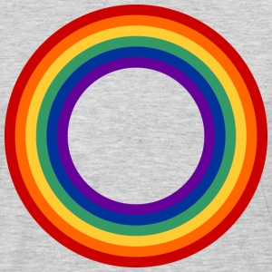 Rainbow Circle Shirt - Men's Premium Long Sleeve T-Shirt