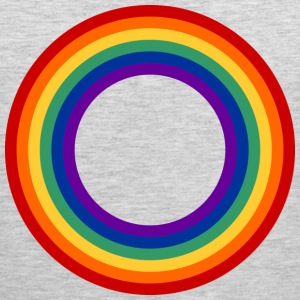 Rainbow Circle Shirt - Men's Premium Tank