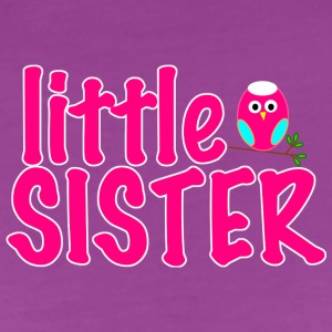 Little Sister Owl   - Women's Premium T-Shirt