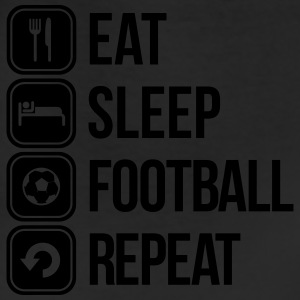 eat sleep football repeat T-Shirts - Leggings