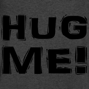 Hug me! Long Sleeve Shirts - Men's V-Neck T-Shirt by Canvas
