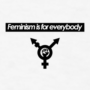 Feminism is for Everybody - Contrast Coffee Mug - Men's T-Shirt