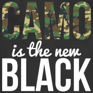 Camo Is The New Black - Country Closet T-Shirts - Adjustable Apron