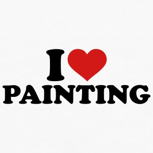 I love Painting Mugs & Drinkware - Men's Premium Long Sleeve T-Shirt