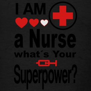 Nurse Superpower Tanks - Men's T-Shirt