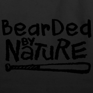Bearded By Nature T-Shirts - Eco-Friendly Cotton Tote