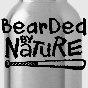 Bearded By Nature T-Shirts - Water Bottle