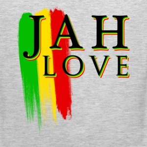 jah love T-Shirts - Men's Premium Tank