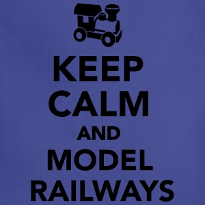 Keep calm and model railways T-Shirts - Adjustable Apron