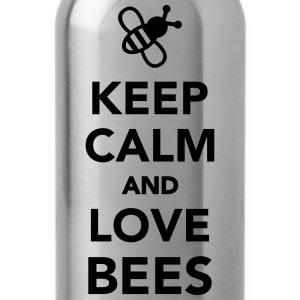 Keep calm and love Bees Kids' Shirts - Water Bottle